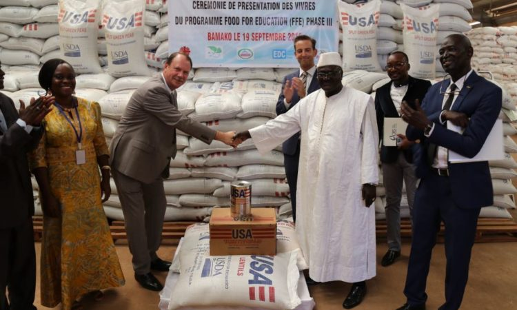 Ambassador Folmsbee Launches USDA Food for Education and Child Nutrition Program