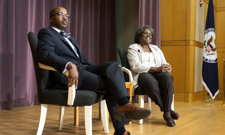 TRANSCRIPT – A Conversation on Race in America and Foreign Policy Assistant Secretary Linda Thomas-Greenfield and Ambassador Reuben Brigety