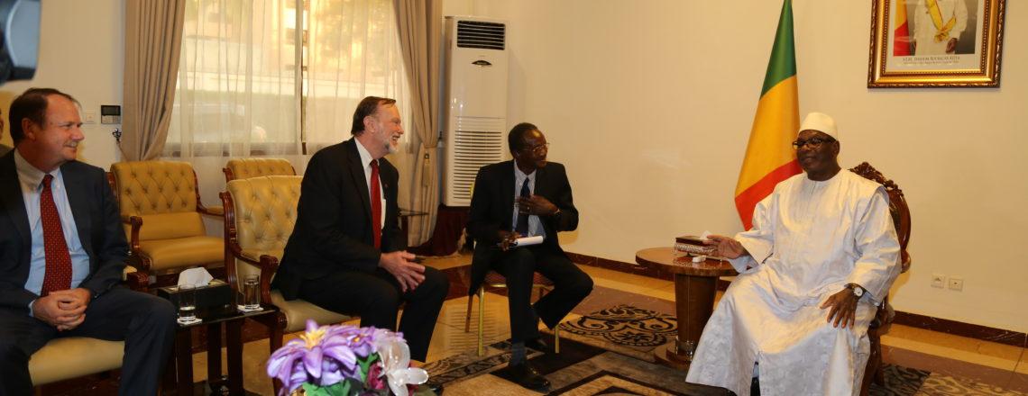 Le Secrétaire d'État Adjoint aux Affaires africaines, Tibor P. Nagy, Visite le Mali