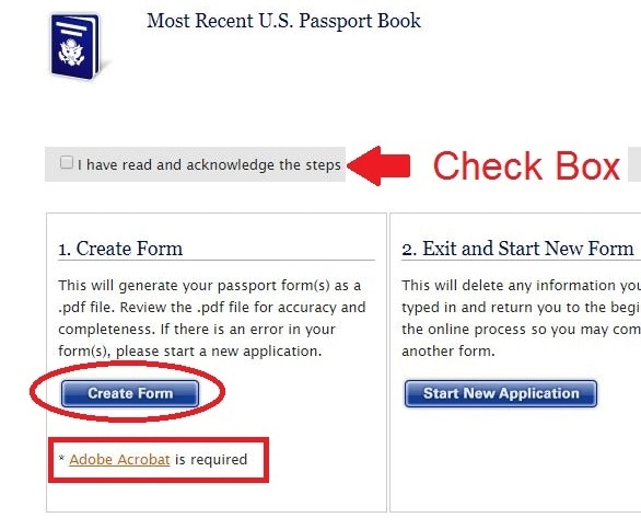Ds 11 Application Form For New Us Passport Us Embassy In Mali