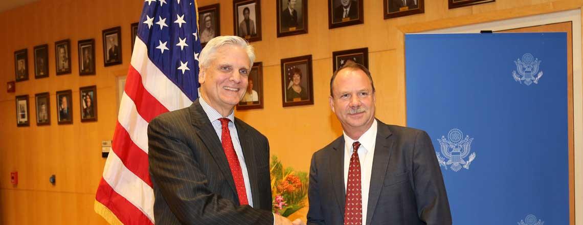 Ambassador Folmsbee Departs Mali
