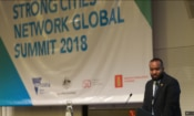 Local leaders speak about efforts to counter violent extremism in their own communities at the third annual Strong Cities Network Global Summit in Melbourne, Australia.